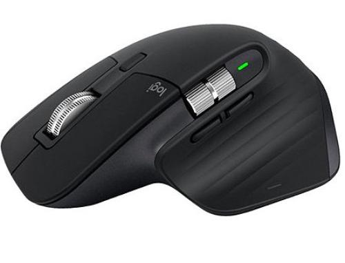 купить Logitech MX Master 3 Black Wireless Mouse, 2.4GHz Wireless+Bluetooth, Darkfield high precision, USB Unifying Receiver, Rechargeable Li-Po (500 mAh) battery, 910-005710 (mouse fara fir/беспроводная мышь) в Кишинёве
