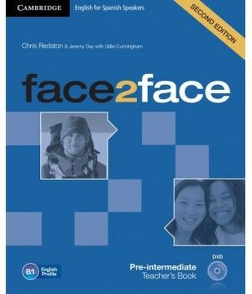 купить face2face Pre-intermediate Teacher's Book with DVD 2nd Edition в Кишинёве