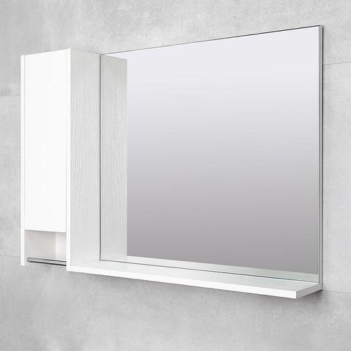 cumpără Dulap-oglindă Selena alb structurat 1000 L în Chișinău