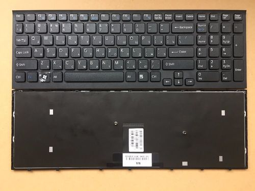 cumpără Keyboard Sony VPCEB w/frame ENG/RU Black în Chișinău