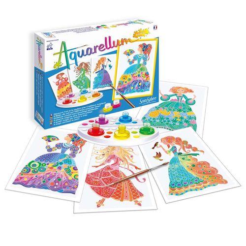 """cumpără Aquarellum Junior """"Flower Princesses"""" în Chișinău"""