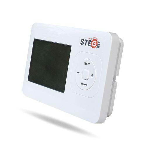 купить Термостат программируемый электронный беспроводной Stege WT100RF в Кишинёве
