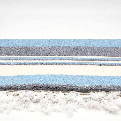 """cumpără Cuvertură """"Blue"""", 65% cotton 35% poliester, 225x260 cm în Chișinău"""