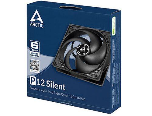 купить Case/CPU FAN Arctic P12 Silent, 120x120x25 mm, 3-pin, 1050rpm, Noise 0.08 Sone (@ 1050 RPM), 24.1 CFM (40.95 m3/h) в Кишинёве
