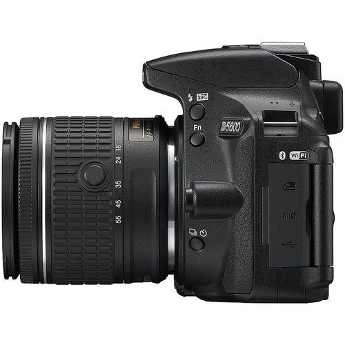 купить Nikon D5600 kit AF-P 18-55VR black, 24.2Mpx CMOS 23,2x15,4mm; ISO up to25600; EXPEED 4; Full HD(60p); GPS;  No Optical low Pass Filter;  Bluetooth 4.1 with SnapBridge; Wi-Fi; 2xAntiDust System; LiveView; VBA500K001 в Кишинёве
