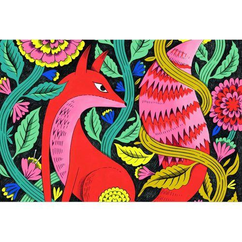 """купить 3D раскраска """"Фантастический лес"""" DJECO в Кишинёве"""