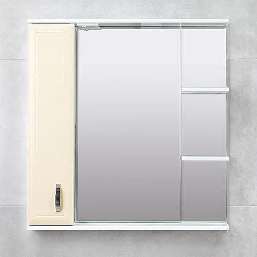 купить Allure Шкаф-зеркало беж 800 L в Кишинёве