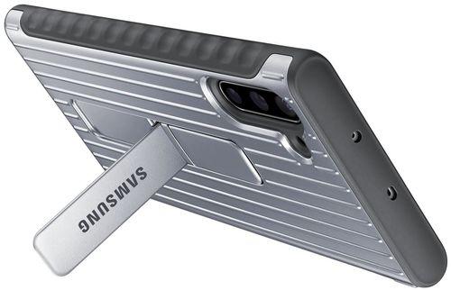cumpără Husă telefon Samsung EF-RN970 Protective Standing Cover Silver în Chișinău