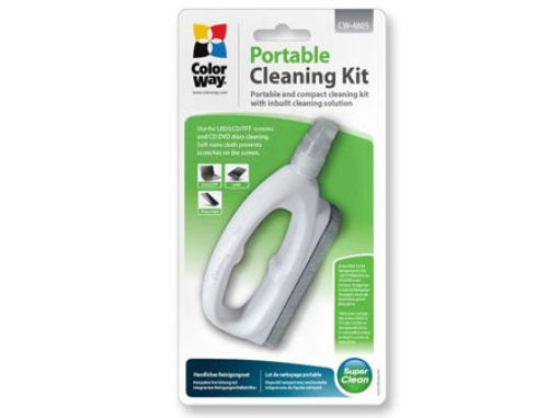 купить ColorWay CW-4805 LCD Screen Compact Portable Cleaning Kit Spray + Cloth Microfiber в Кишинёве
