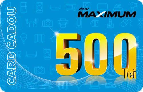 купить Сертификат подарочный Maximum 500 MDL в Кишинёве