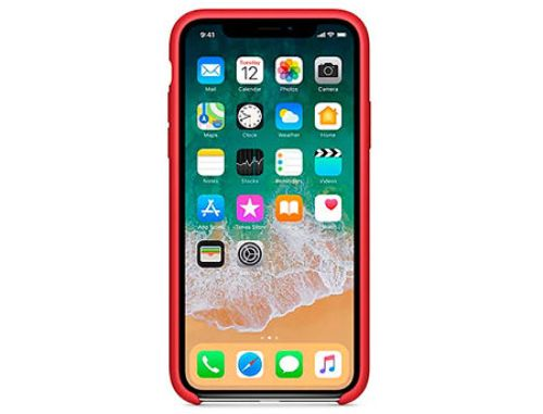 купить 810015 Husa Screen Geeks Original Case Design for Apple iPhone X, Red (чехол накладка в асортименте для смартфонов Apple iPhone) в Кишинёве