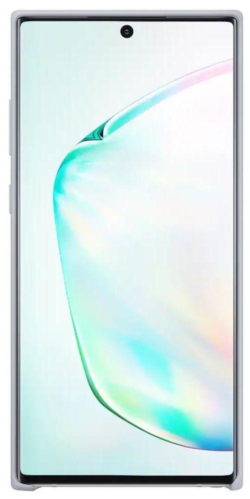 cumpără Husă pentru smartphone Samsung EF-PN975 Silicone Cover Silver în Chișinău