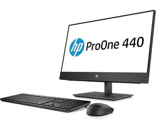 "купить All-in-One PC - 23.8"" HP ProOne 440 G4 FullHD IPS +W10 Pro, Intel® Core® i3-8100T 3,1 GHz, 4GB DDR4 RAM, 1TB HDD, DVD-RW, CR, Intel® UHD 630 Graphics, FullHD webcam, Fixed Tilt Stand, Wi-Fi/BT5, GigaLAN, 120W PSU, Win10 Pro, USB KB/MS, Black в Кишинёве"