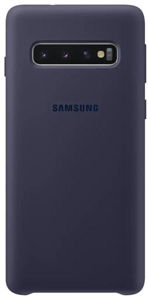 cumpără Husă telefon Samsung EF-PG973 Silicon Cover S10 Darkblue în Chișinău