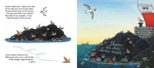 купить Melcul si balena - Julia Donaldson в Кишинёве