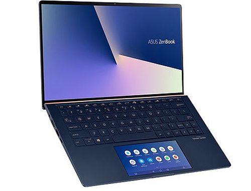 """купить Ноутбук 13.3"""" ASUS ZenBook 13 UX334FLC Royale Blue, Intel i5-10210U 1.6-4.2Ghz/8GB/SSD 512GB M.2 NVMe/GeForce MX250 2GB/WiFi 6 802.11ax/BT5.0/HDMI/HD WebCam/Illum. Keyb./ScreenPad 5.65""""/13.3"""" IPS LED Backlit FullHD NanoEdge (1920x1080)/Windows 10 UX334FLC-A3108T в Кишинёве"""
