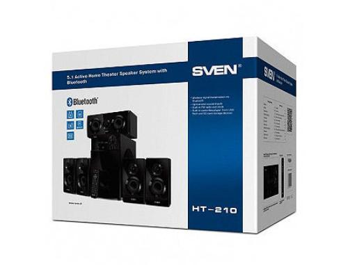 купить Home Theater SVEN HT-210, FM Tuner, LED Display, remote, FM-tuner, USB port, SD slot ( 5.1 surround, RMS 125W, 50W subwoofer, 5x15W Satellites ), www в Кишинёве