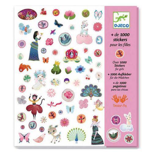 cumpără Set stickere pentru fetițe DJECO în Chișinău