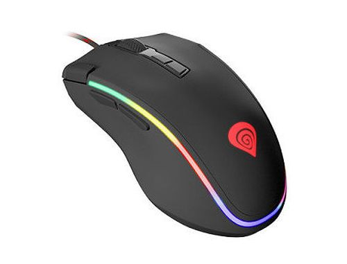 купить Genesis Krypton 700 Professional Gaming Mouse, 8 programmable buttons, RGB backlight, 7200dpi, 6500fps, 130ips, 1000Hz, 2.0m, USB (mouse/мышь) в Кишинёве