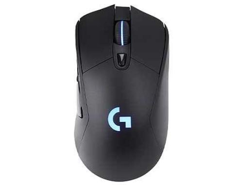 купить Logitech G703 Lightspeed HERO Wireless Gaming Mouse, RGB Lighting, Sensor HERO 16K, Buttons: 6, Resolution:100–16,000 dpi, Connection: Wired/Wireless, 910-005640 (mouse/мышь) в Кишинёве
