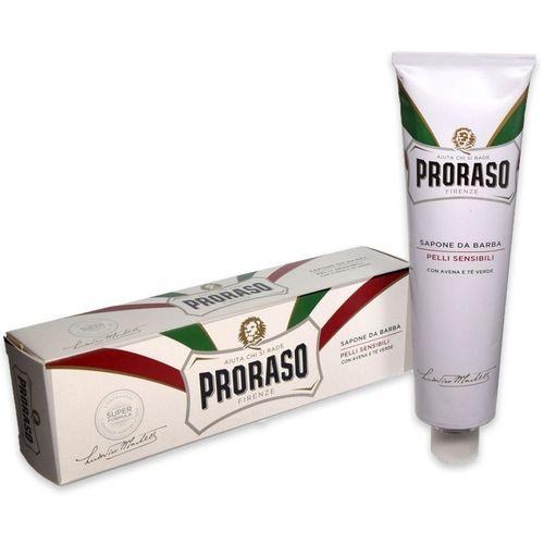 купить PRORASO WHITE LINE SHAVING SOAP IN A TUBE 150ML в Кишинёве