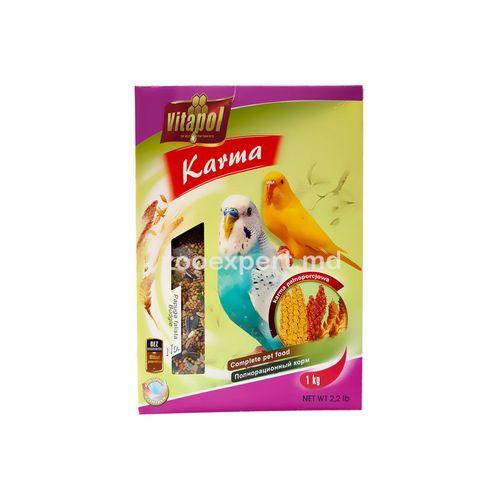 купить Vitapol Karma корм для волнистых попугаев 500 gr в Кишинёве