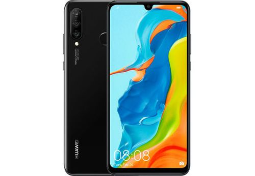cumpără Huawei P30 Lite Dual Sim 4GB RAM 128GB, Midnight Black în Chișinău