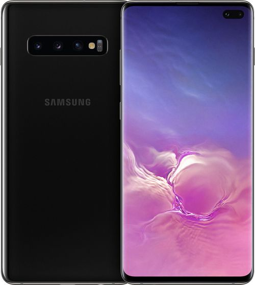 купить SAMSUNG Galaxy S10 Plus Dual Sim 512GB, Cermic Black в Кишинёве