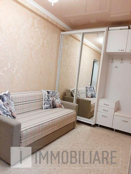 Apartament cu 1 cameră+living, sect. Rîșcani, str. Florării.