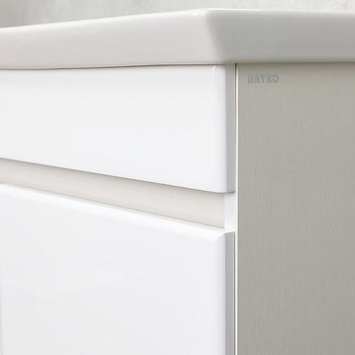 купить Urbano Шкаф белый структурный с умывальником Isik 1000 в Кишинёве