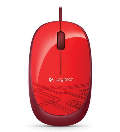 купить Mouse Logitech M-105 Optical, Red, USB в Кишинёве