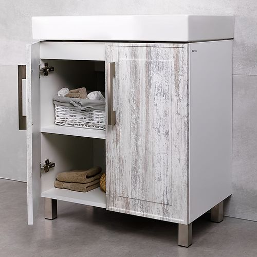 купить Porto Шкаф vintage Duo под умывальник Стенс 700 в Кишинёве