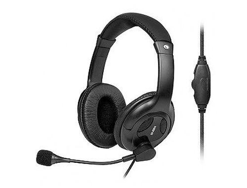 купить SVEN AP-675MV, Stereo headphones with microphone, Volume control, 2*3.5 MM (3 PIN), Black в Кишинёве