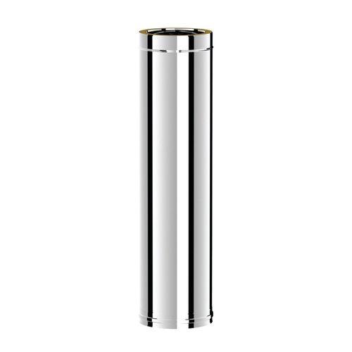 купить Ø130-180 Труба дымоходная 1000 mm утепленная (304-304) в Кишинёве