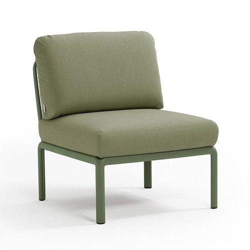 купить Кресло модуль центральный с подушками Nardi KOMODO ELEMENTO CENTRALE AGAVE-giungla Sunbrella 40373.16.140 в Кишинёве