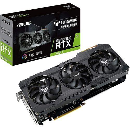 купить Видеокарта ASUS TUF-RTX3060TI-O8G-V2-GAMING, GeForce RTX3060Ti 8GB GDDR6, 256-bit, GPU/Mem speed 1785/14Gbps, PCI-Express 4.0, 2xHDMI 2.1/3xDisplay Port 1.4a (placa video/видеокарта) в Кишинёве