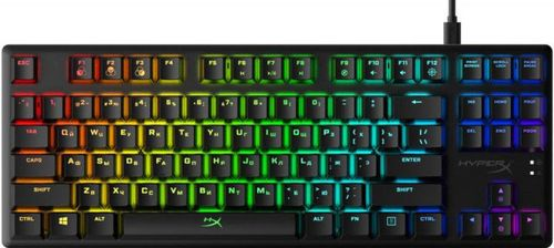 купить HYPERX Alloy Origins Core RGB Mechanical Gaming Keyboard (RU), Mechanical keys (HyperX Red key switch) Backlight (RGB), 100% anti-ghosting, Ultra-portable design, Solid-steel frame, Convenient USB charge port, USB в Кишинёве