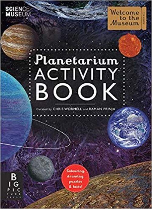 купить Planetarium (Activity Book) - Chris Wormell, Raman Prinja в Кишинёве