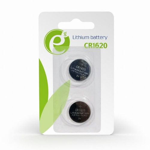 купить Gembird  Button cell CR1620, 2pcs, High performance and long lifetime в Кишинёве