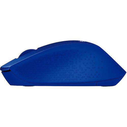 купить Мышь беспроводная компьютерная  Logitech Wireless M330 Silent Plus Blue, Optical Mouse for Notebooks, nano receiver, Blue, 910-004910 в Кишинёве