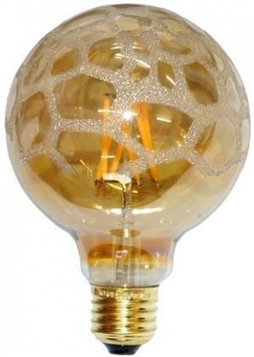 купить Лампочка DAS Light LED E27 Filament Globe Gold 4W 400lm WW, DLED-G95/4-FL Eiko в Кишинёве