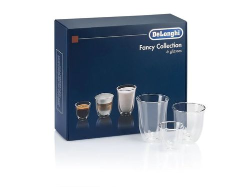 купить Стакан DeLonghi SET 6 Glasses DLSC302 MIX (60/190/220) в Кишинёве