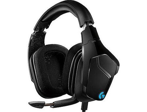 купить Logitech G635 7.1 Surround Lightsync Gaming Headset, 7.1 Surround, Driver Pro-G 50mm, Headphone: 20Hz-20kHz, Microphone: 100Hz-10kHz, 981-000750 (casti cu microfon/наушники с микрофоном) в Кишинёве