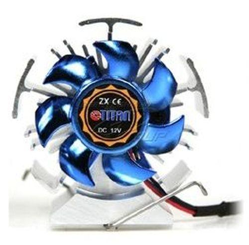 купить Titan Cooler TTC-CSC31TZ Iron Heart - Chipset Cooler, 50x50x10mm, 5000rpm, 24dBa, 8.9CFM, 3pin в Кишинёве