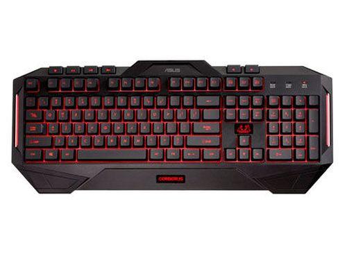 купить ASUS CERBERUS Gaming Keyboard, Backlight: 2 colors (red/blue), USB (tastatura/клавиатура) в Кишинёве