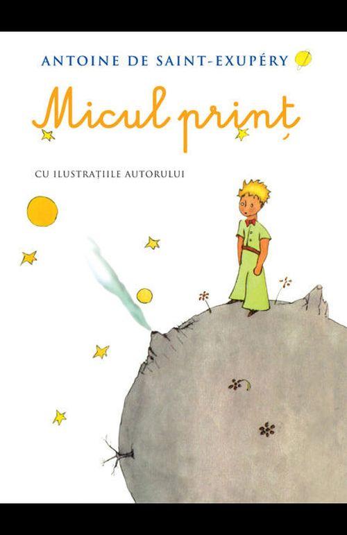купить Micul prinț - Antoine de Saint-Exupery (cu ilustrațiile autorului) в Кишинёве