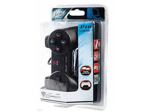 купить Genesis P10 Gamepad, 8-way controller, 12 buttons, for PC, 1.8m cable, USB 2.0 (accesoriu consola joc joystick gamepad/игровой манипулятор джойстик геймпад), www в Кишинёве