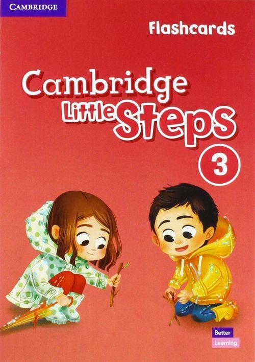 купить Cambridge Little Steps 3 Flashcards Флэшкарты в Кишинёве