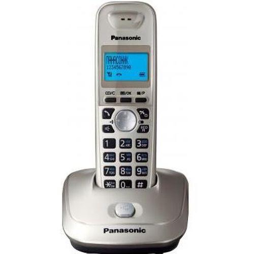 cumpără Telephone Dect Panasonic KX-TG2511UAN, Platinum, AOH, Caller ID, LCD, Sp-phone (журнал на 50 вызовов), спикерфон на трубке, телефонный справочник (50 записей), полифонические мелодии звонка, кириллица на дисплее, время/дата на дисплее în Chișinău