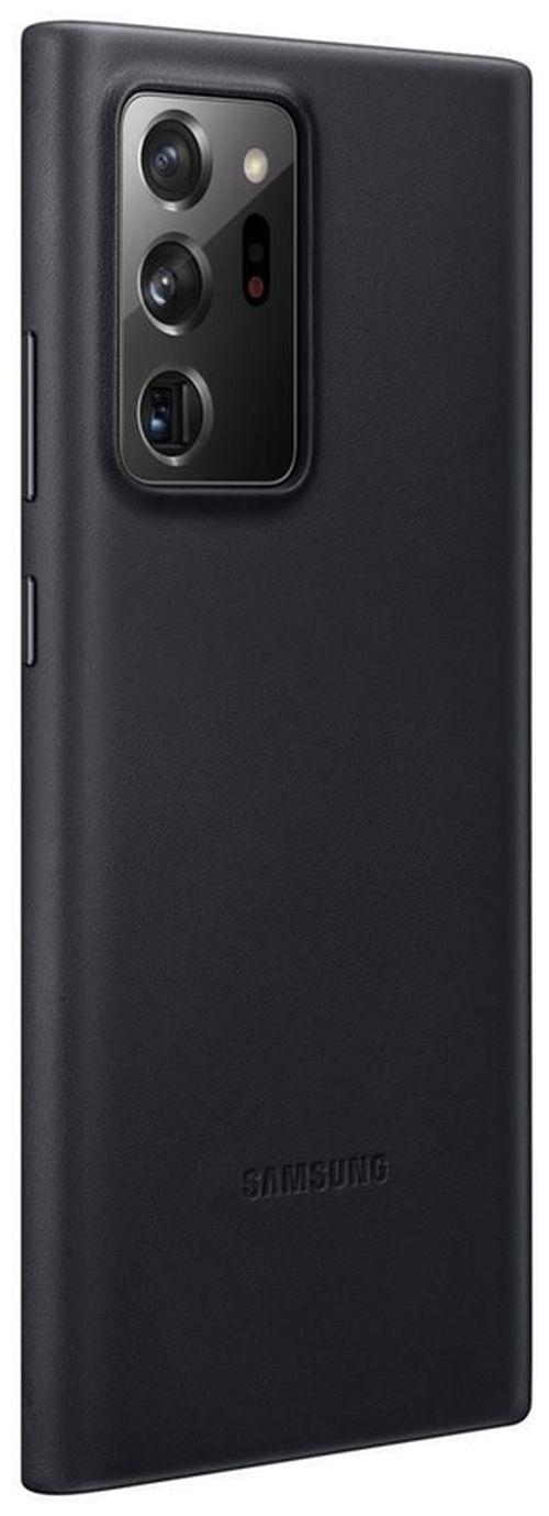cumpără Husă telefon Samsung EF-VN985 Leather Cover Black în Chișinău